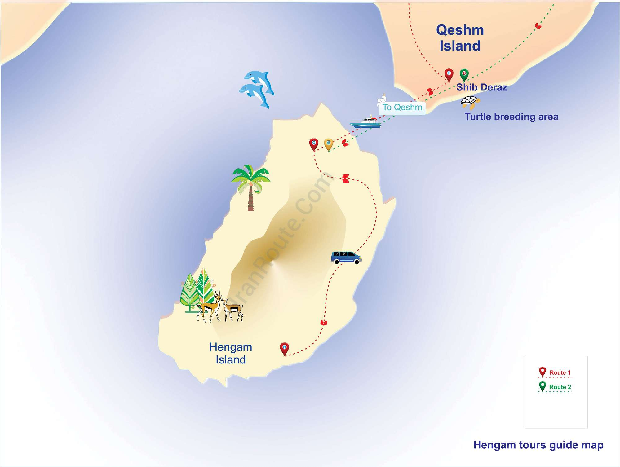 A Guide to Visiting coral reef Island of Hengam