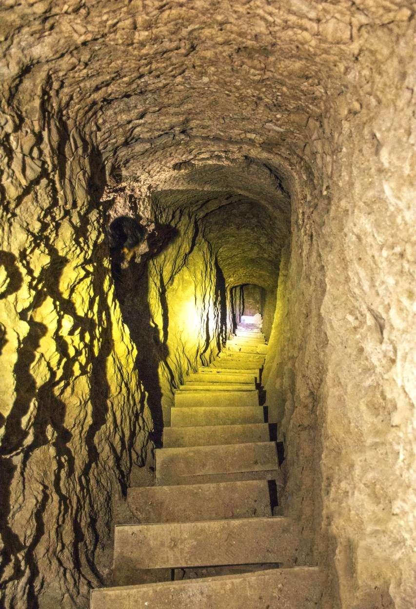 The Underground City of Nushabad
