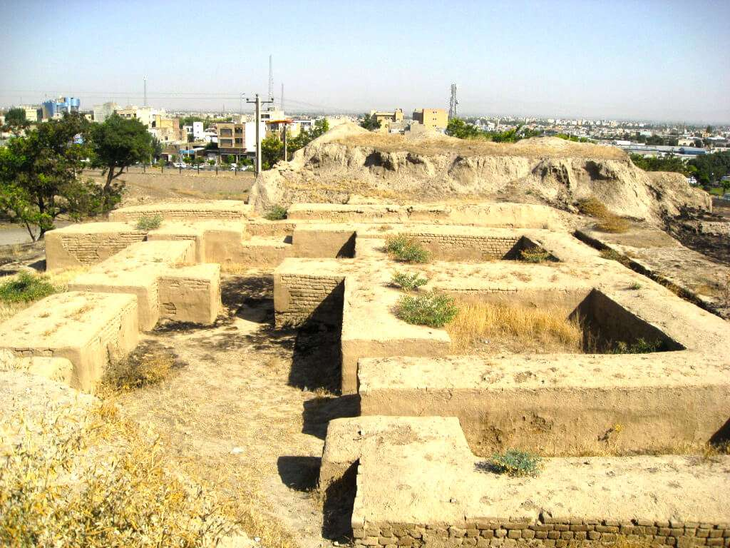Tappeh Hegmataneh (Ecbatana Mound)