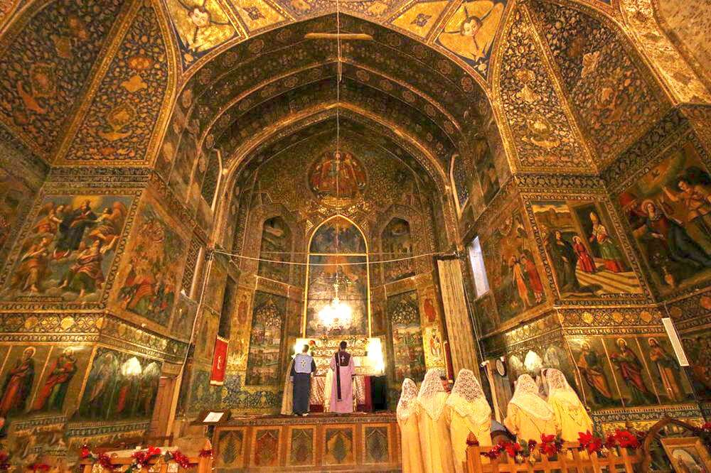 The Top Holy Houses of Armenians in Isfahan (Armenian Churches)