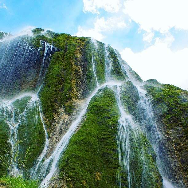 Pouneh Zar Waterfall