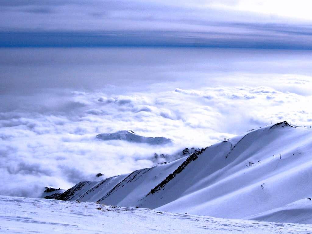 The Ski Resort Over the City