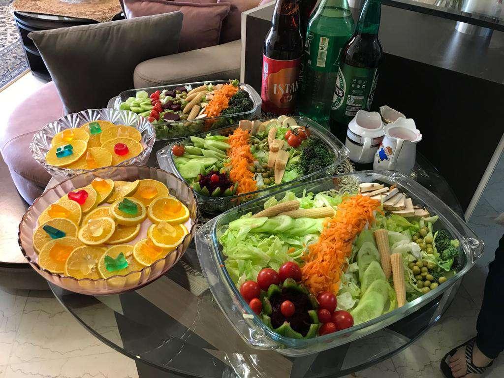 A Pleasant Homemade Dinner Among an Iranian Family