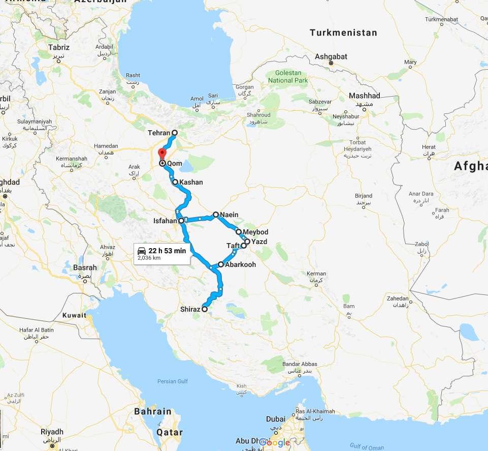 13 Days Iran Classic Tour